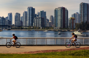 Vancouver topped the list of the world's most livable cities