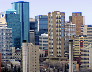 Downtown Edmonton - Great city to live in and rents will remain balanced